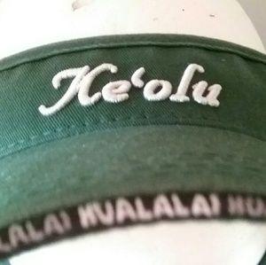 Accessories - KEOLU VISOR Made Especially 4 HUALALAI RESORT NICE
